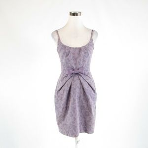 Lavender BARASCHI sheath dress 2